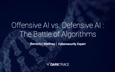 Darktrace Offensive AI vs Defensive AI - Battle of the Algorithms - Bénédict Matthey