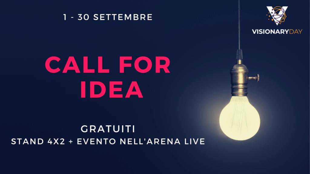 Promozione call for IDEA